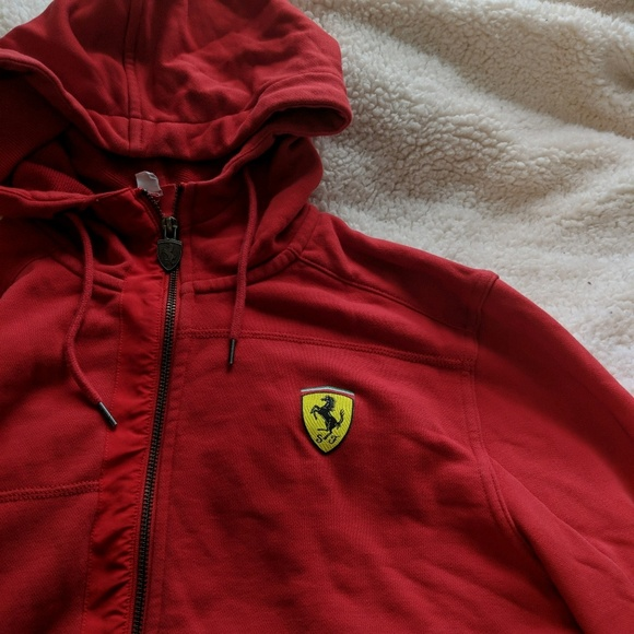 Puma Ferrari Hoodie Cheaper Than Retail Price Buy Clothing Accessories And Lifestyle Products For Women Men